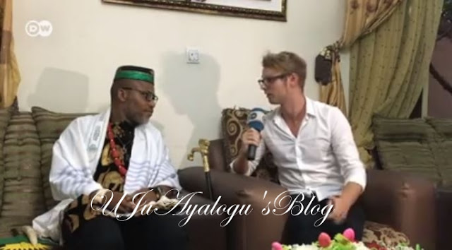"""There Will Be No Elections In The Southeast If We Don't Get A Referendum On Biafra's Independence"" – Nnamdi Kanu Says In New Interview."