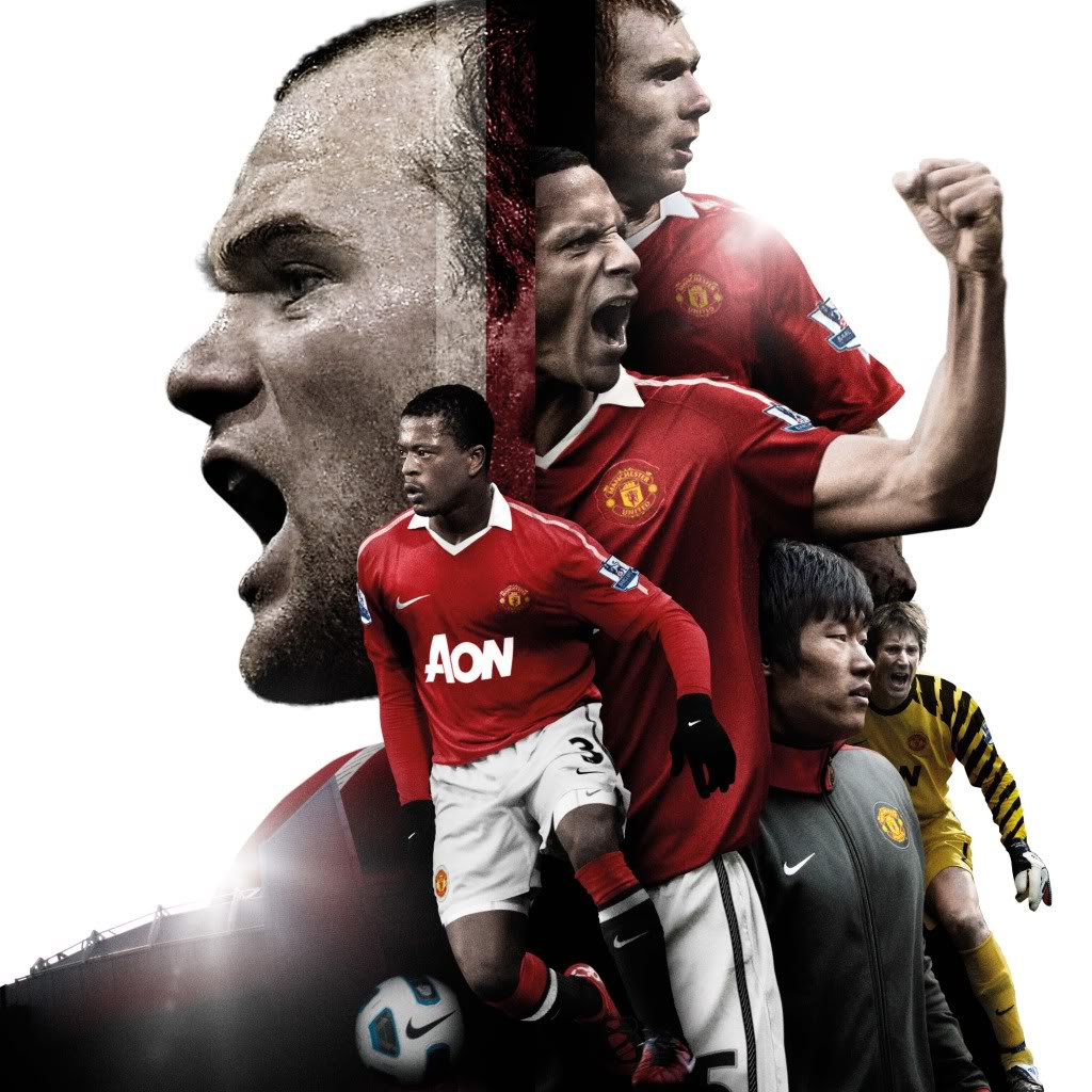 Wallpaper Manchester United Putih