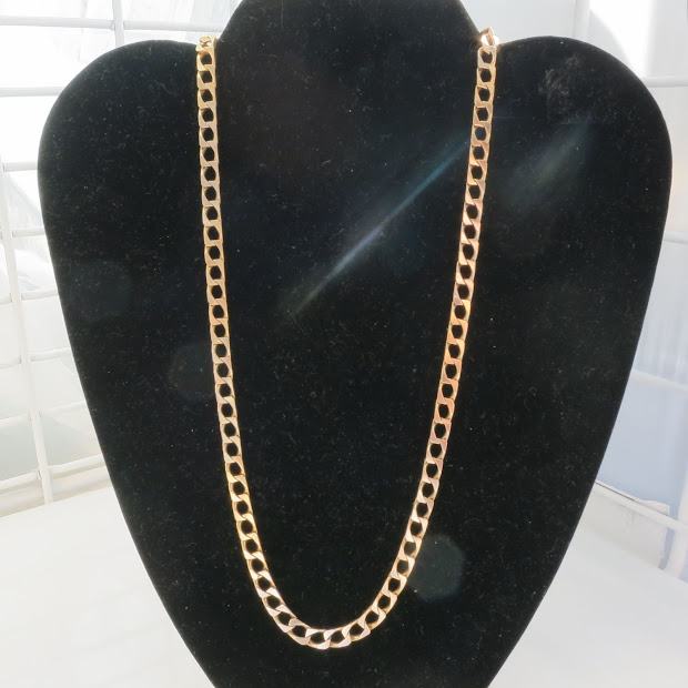 Necklace Jewelry Design - Crystals Beads Gold Stone Unoaerre 14k Chain Rapper