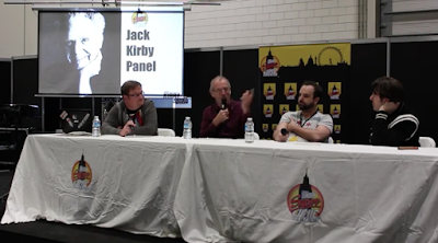 London Supercon Jack Kirby Panel - Russell Payne, Dave Gibbons, Tim Seeley, Jonathan Ross