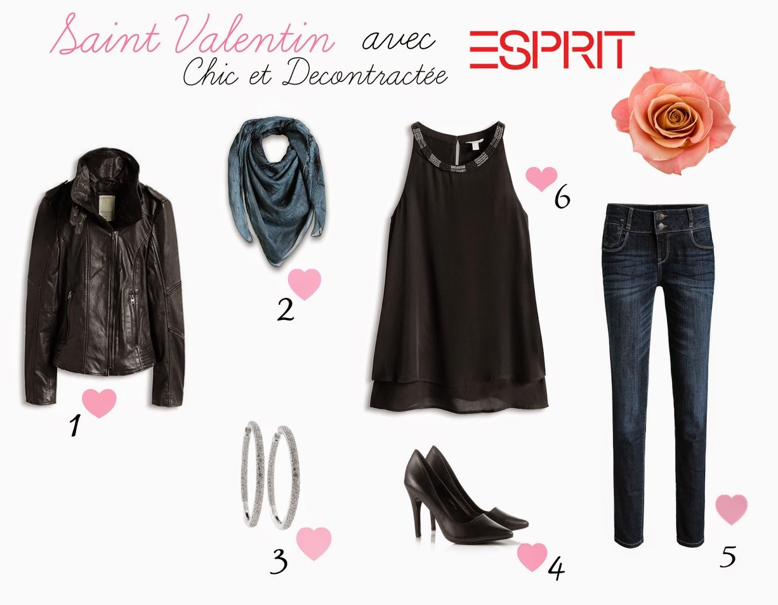 3 tenues pour la saint valentin avec esprit beauty and the brunette. Black Bedroom Furniture Sets. Home Design Ideas