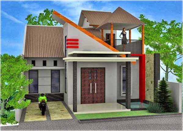 model gambar desain rumah minimalis 2 lantai