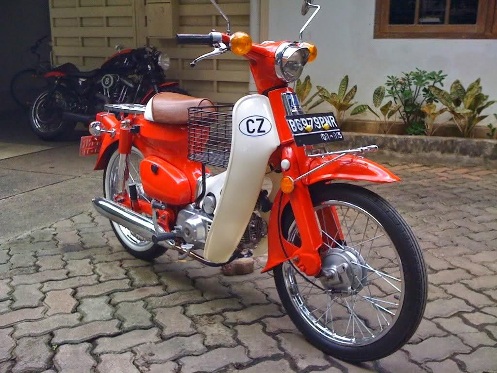 60 Hasil Modifikasi Motor Honda Grand Terupdate Daun Motor
