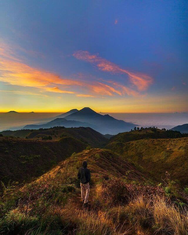 6 spot foto gunung prau selain sunrise - foto instagram sholehudinn_r