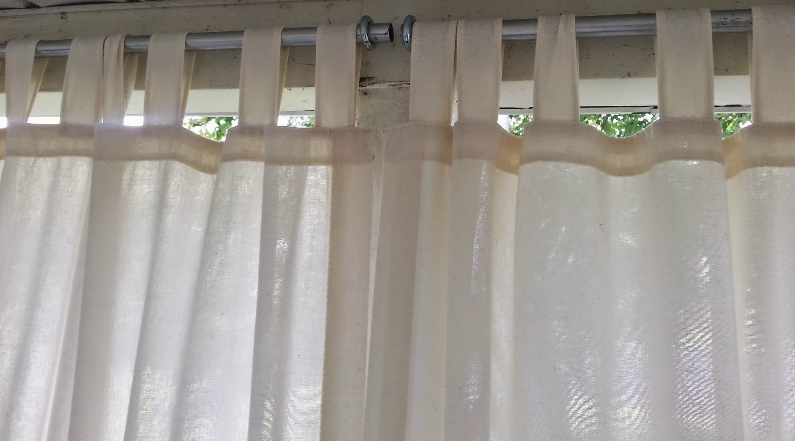 and inexpensive money drop on cheap these no save tons sew make diy curtain rod cloth drapery of hack with a curtains