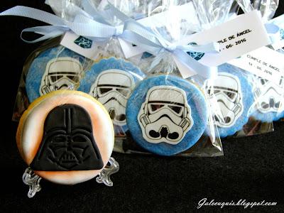 Galletas decoradas Star Wars
