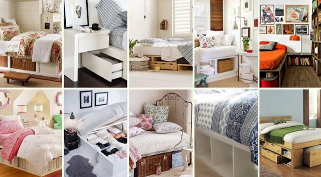 Κρεβάτια με Αποθηκευτικούς Χώρους