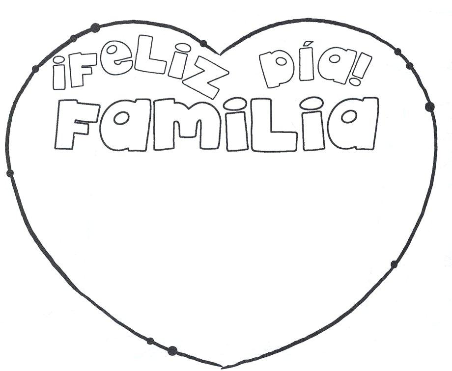 Top 10 Punto Medio Noticias Dia Del Abrazo En Familia Para Colorear