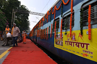Shri Ramayana Express flagged off from Safdarjung railway station