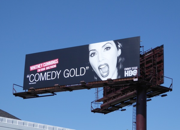 Whitney Cummings Comedy Gold 2016 Emmy billboard
