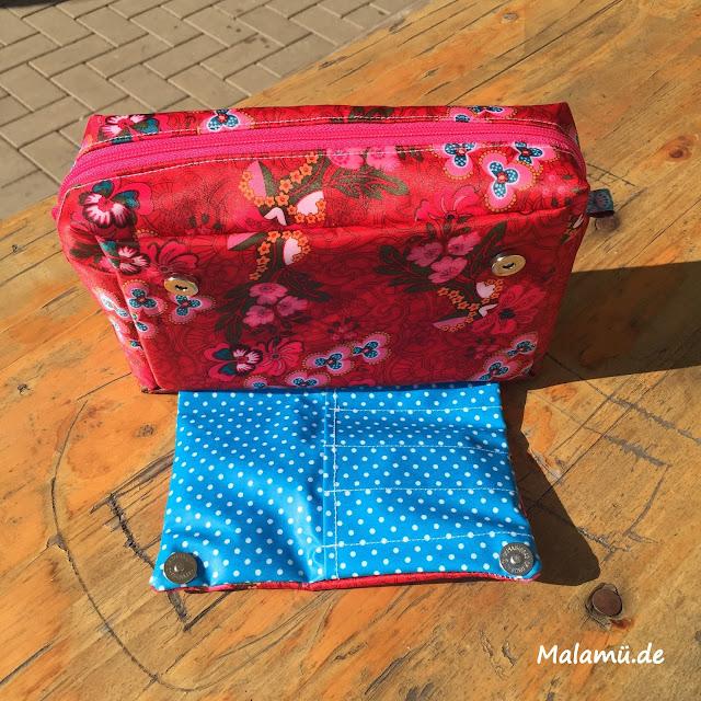 Beautytasche in Kosmetikgröße von malamü