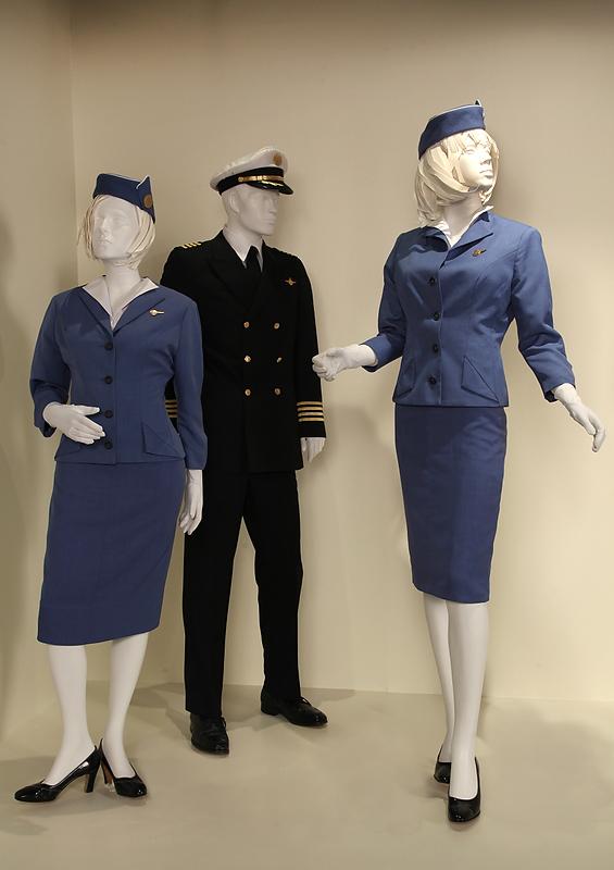 Stewardess Costume Flight