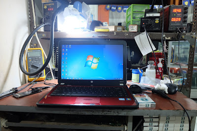 Service Laptop hp pavilion g4 no display di malang