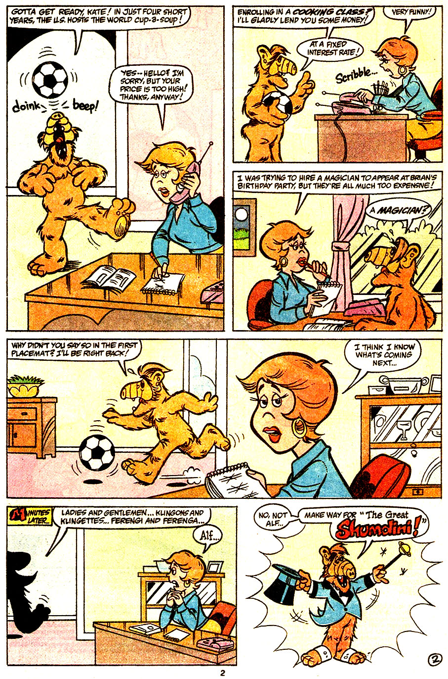 Read online ALF comic -  Issue #34 - 4