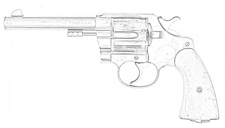 Coloring Pages Pistols Free Downloadable Coloring Pages