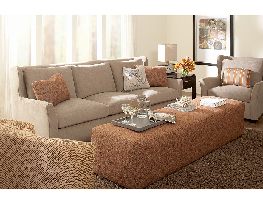 Modern Furniture: Havertys Contemporary Living Room Design