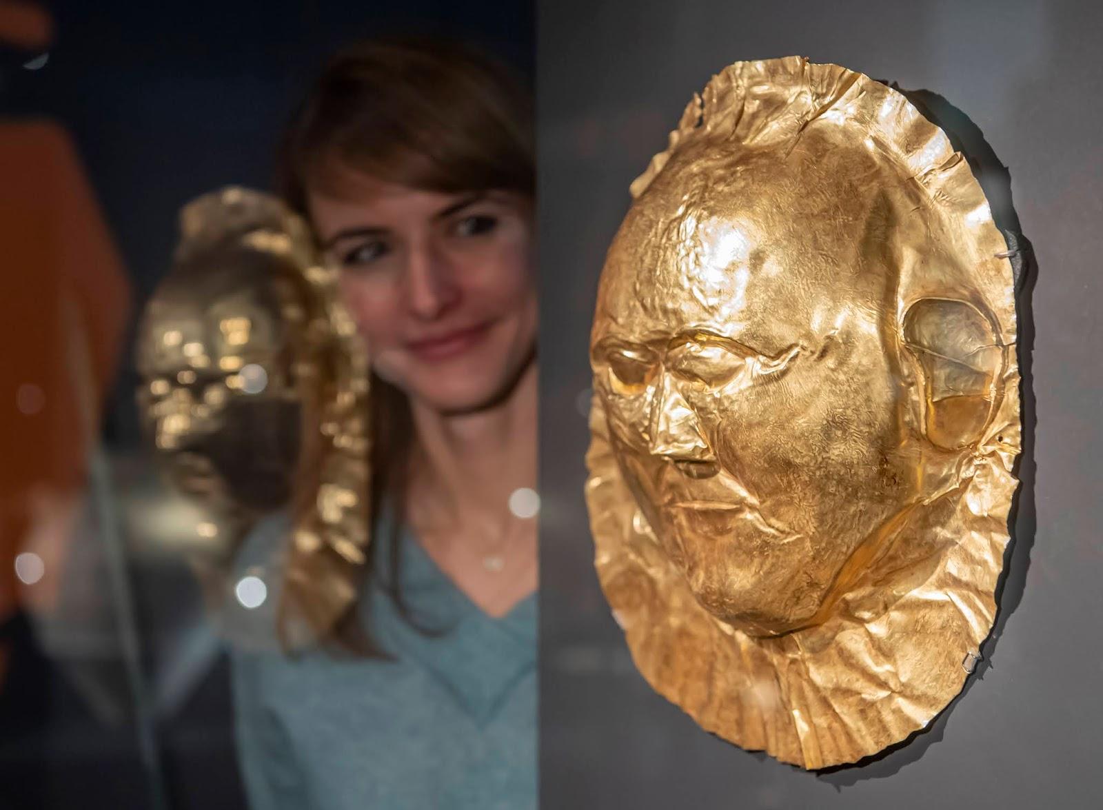 Εγκαίνια της έκθεσης  «Μυκήνες  Ο μυθικός κόσμος του Αγαμέμνονα» στην  Γερμανία 5f29b008238