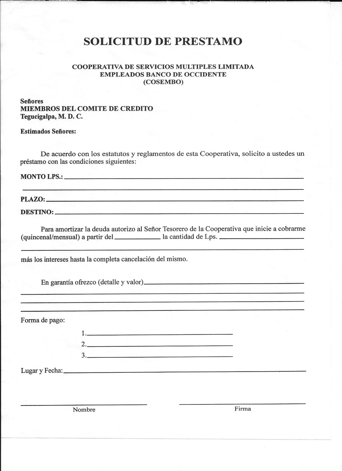 Requisitos Para Hipoteca Comercio Documentos Comerciales