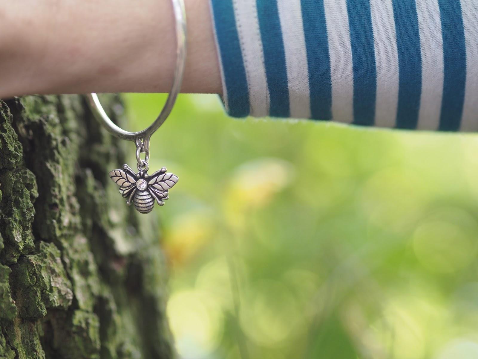 danon jewellery swarovski set bee bracelet