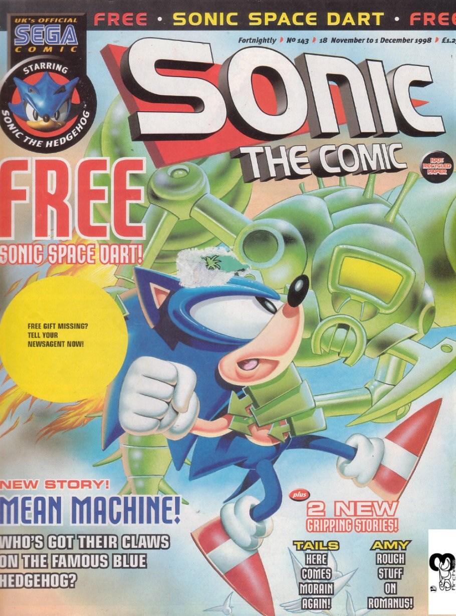 Read online Sonic the Comic comic -  Issue #143 - 1