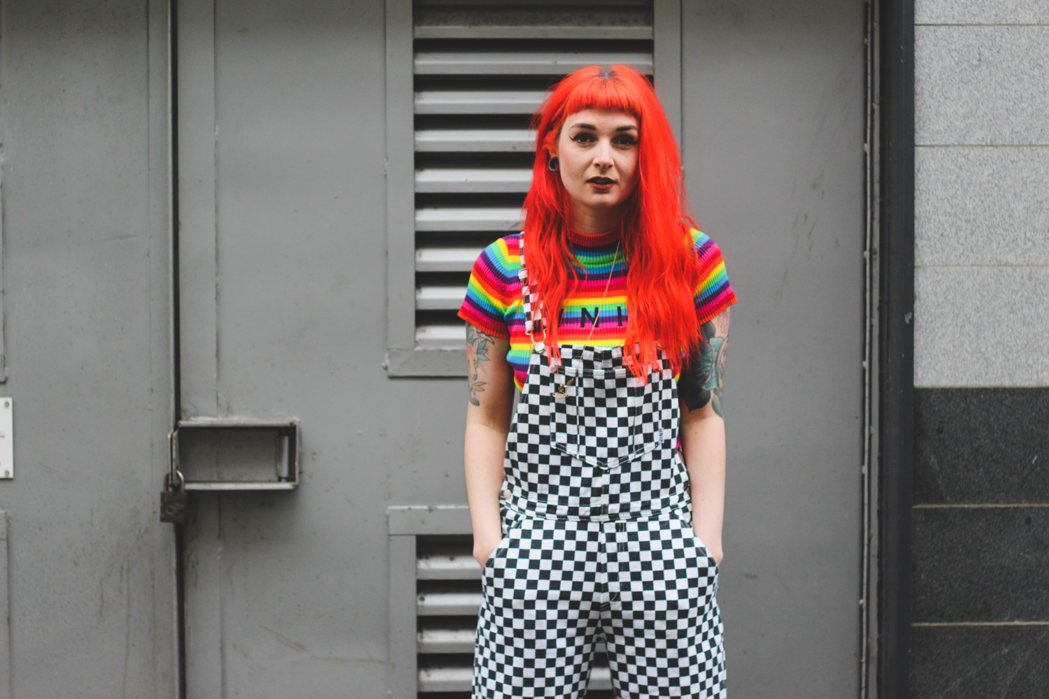 Alternative Fashion Blogger Foxxtailz in UNIF