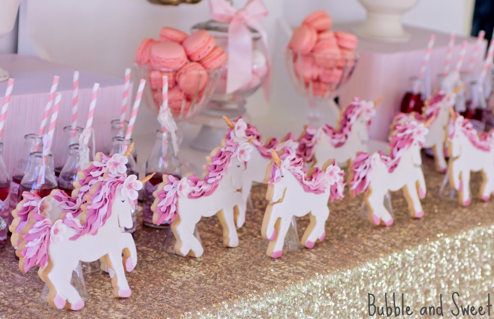 Bubble And Sweet Sophie S 7th Birthday Unicorn Party I