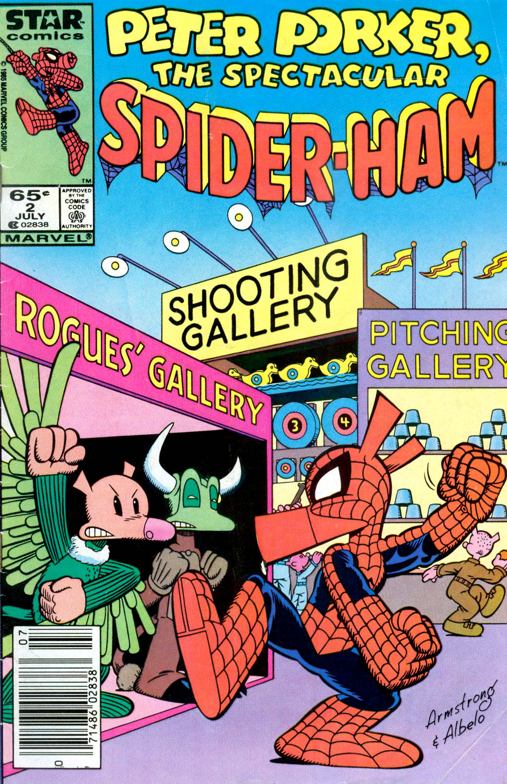 Peter Porker, The Spectacular Spider-Ham issue 2 - Page 1