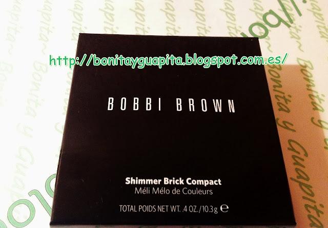 Iluminador Shimmer Brick Compact de Bobbi Brown