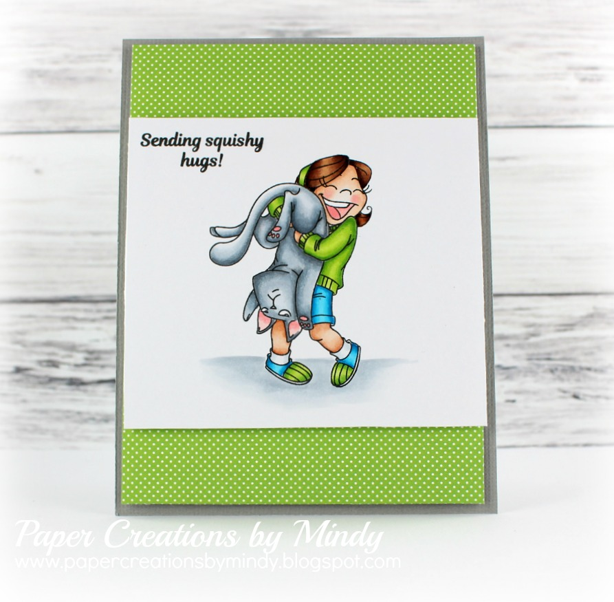 Squishy Hugs Kraftin Kimmie Stamps - Mindy Eggen Design