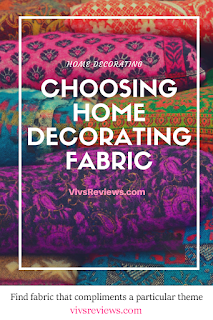 choosing home decorating fabric