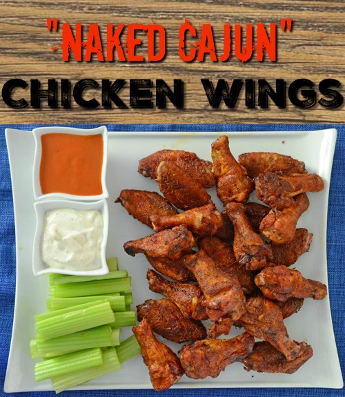 Sauce Free Cajun Chicken Wings are spicy, flavorful, smoked first and then grilled on a Big Green Egg kamado grill