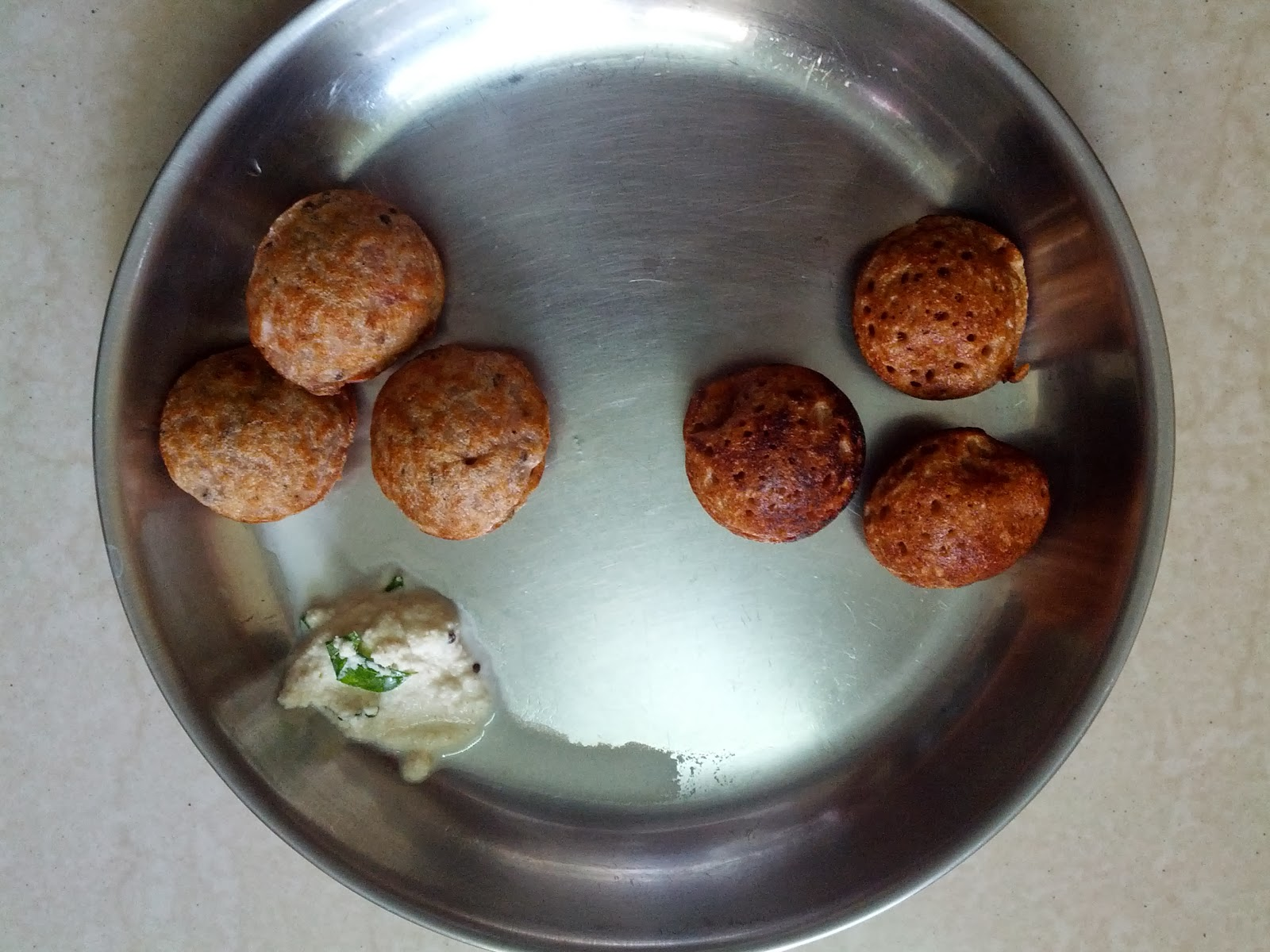 Sorghum / Great millet Paniyaaram