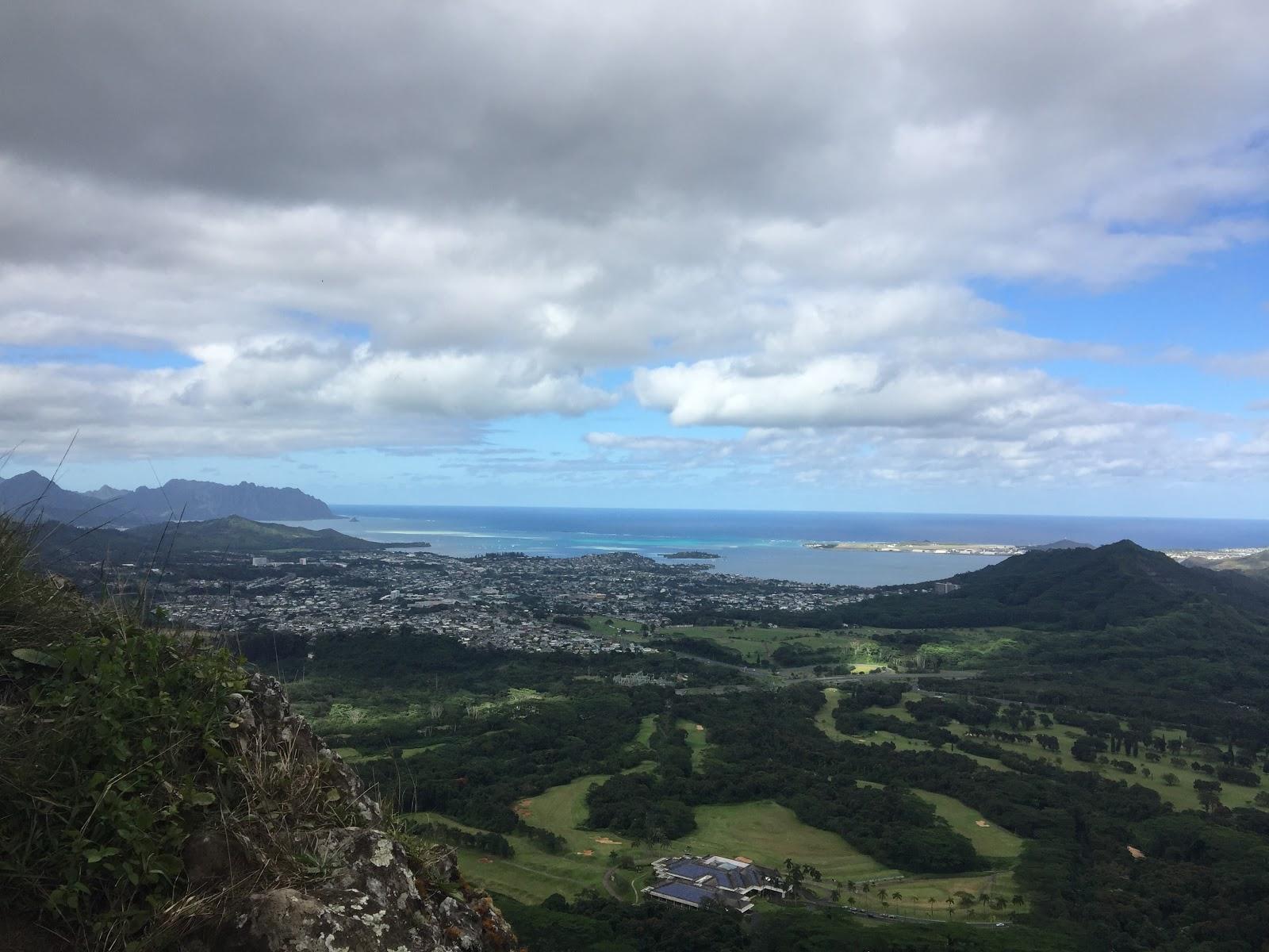 Morgan Hiking in Hawaii: Pali Puka revisited