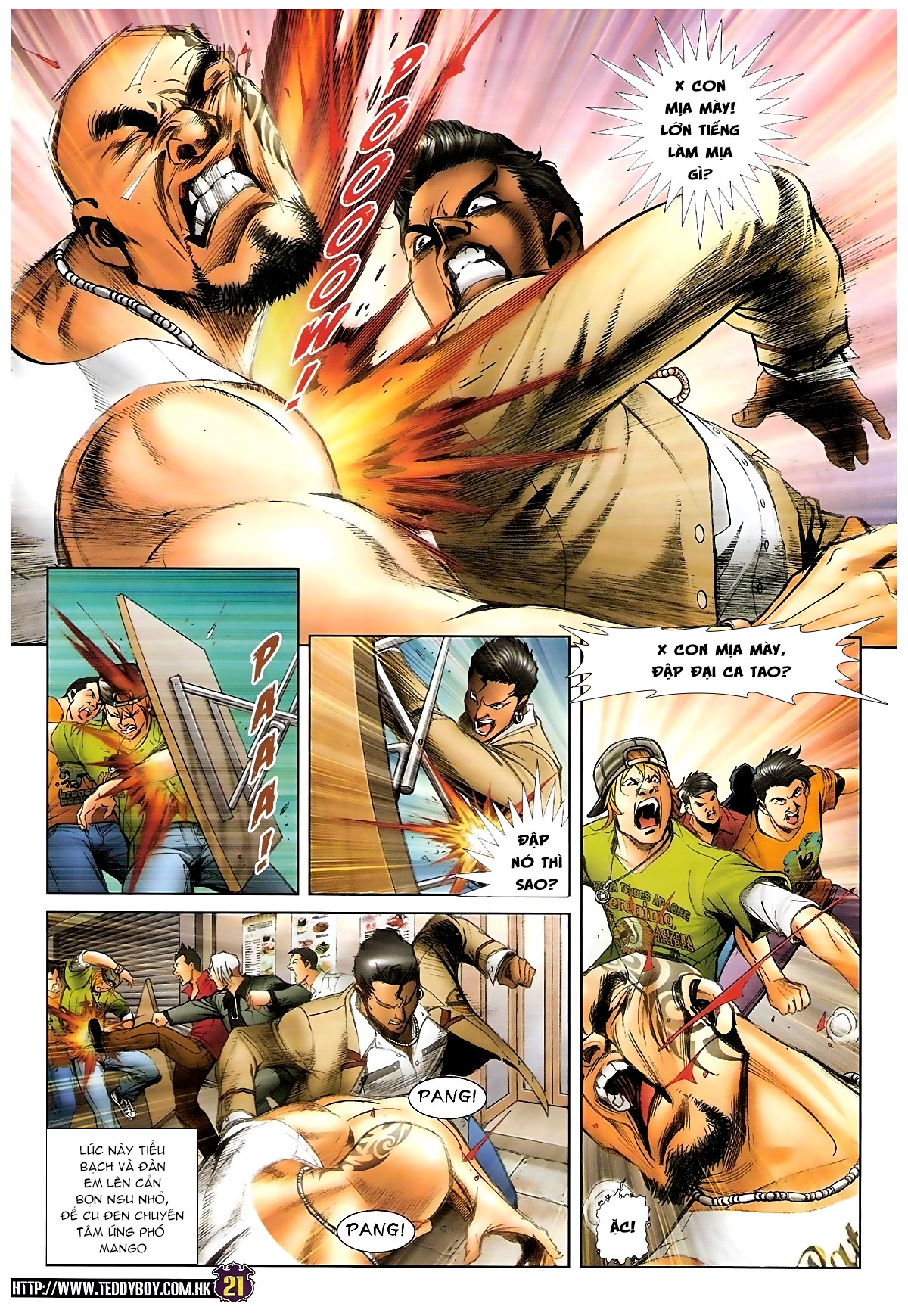 Người Trong Giang Hồ - Chapter 1438: Tứ Đại Quyền Vương - Pic 16