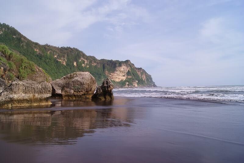 gambar pantai parangtritis jogja