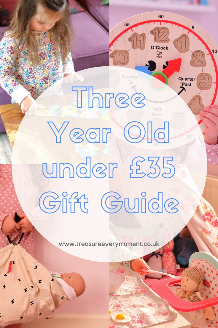 Three Year Old Gift Guide Under £35