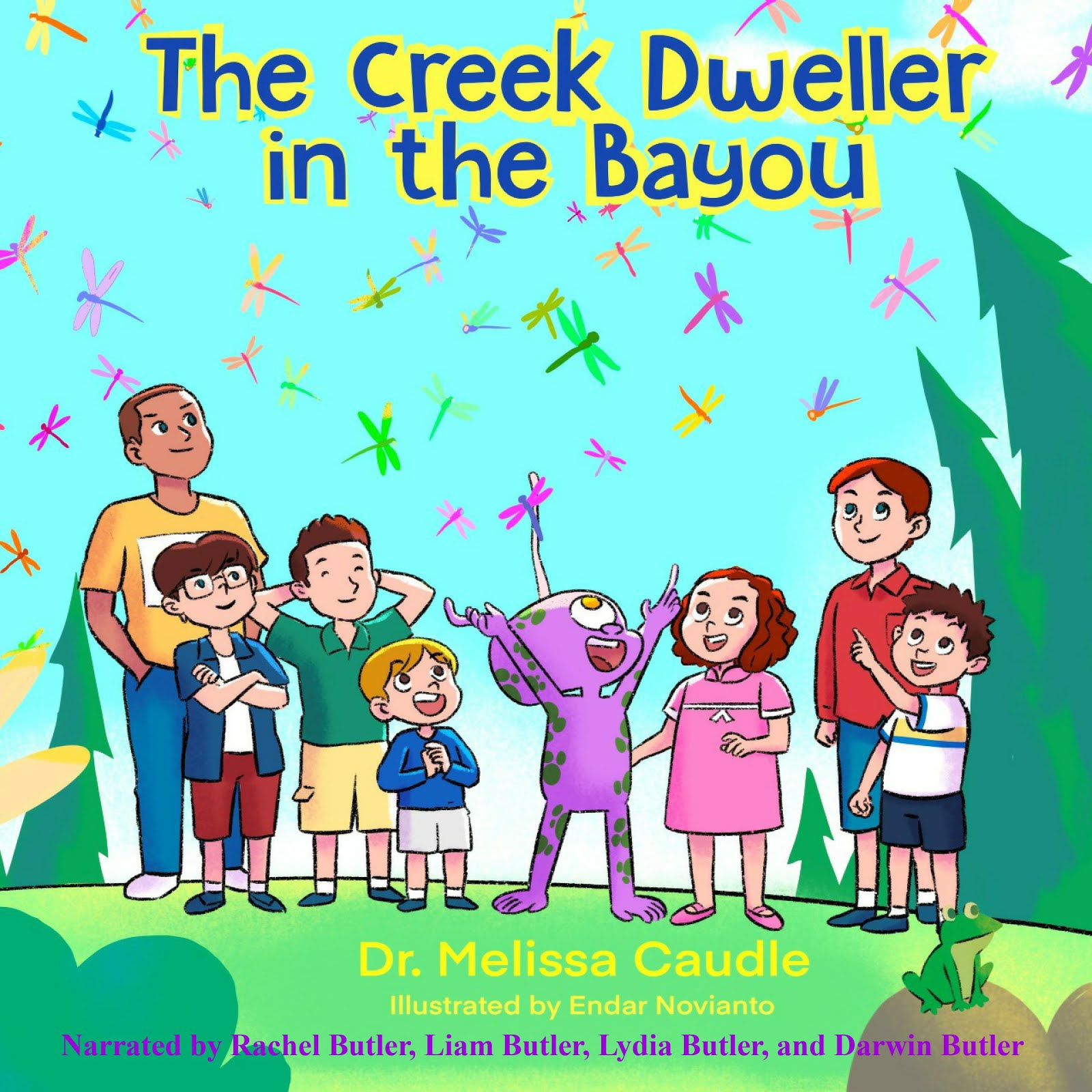 The Creek Dweller in the Bayou Audible Logo Audible Audiobook – Unabridged