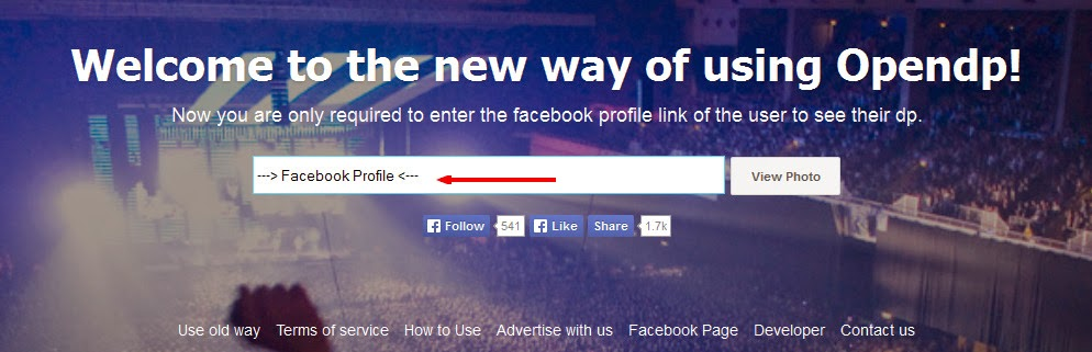 View Private/ Locked Facebook Profile Pictures In Full Size