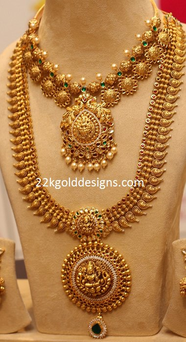 Manepally Antique Gold Jewellery 22kgolddesigns