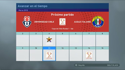 PES 2019 Chilean League Mod Campeonato Scotiabank Season 2018/2019
