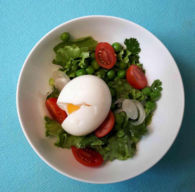 Salade de petits pois au citron et aux herbes
