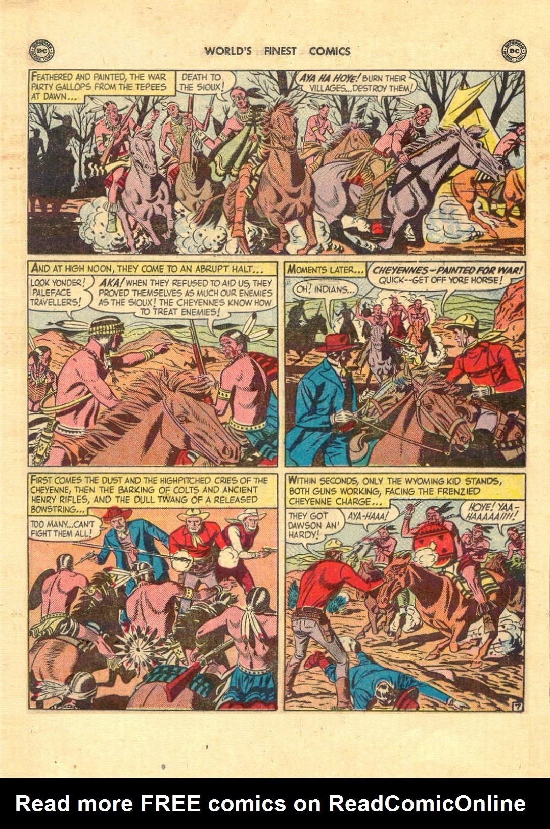 Read online World's Finest Comics comic -  Issue #52 - 21