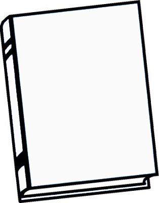 template of a book