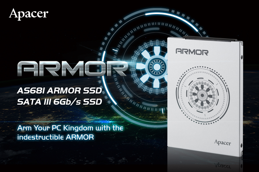 Arm Your PC Kingdom with the Indestructible AS681 ARMOR SATAIII SSD