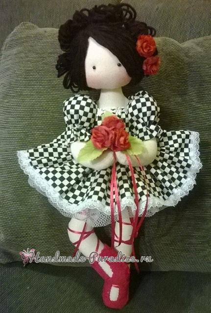 Куколка-балерина в стиле тильда (1)