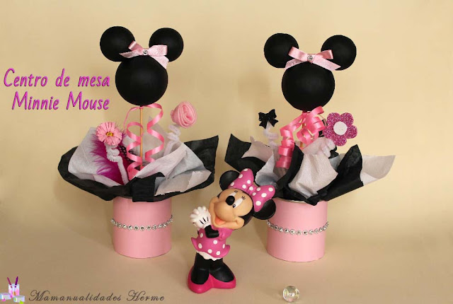 Baby Minnie Mouse Cake Pops