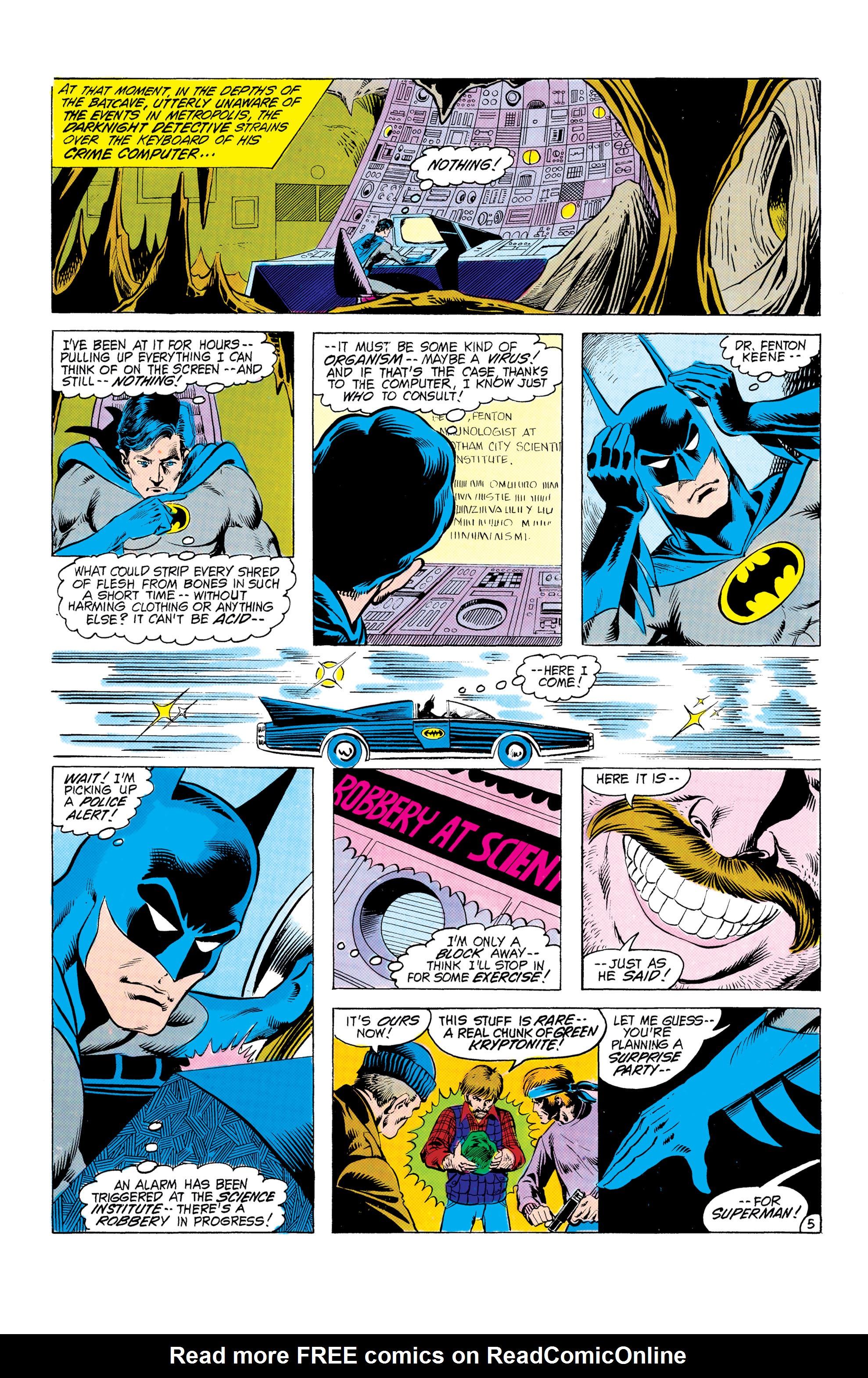 Read online World's Finest Comics comic -  Issue #303 - 6