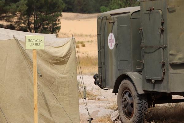 фото тактичних навчань Херсонської 124 обрТрО