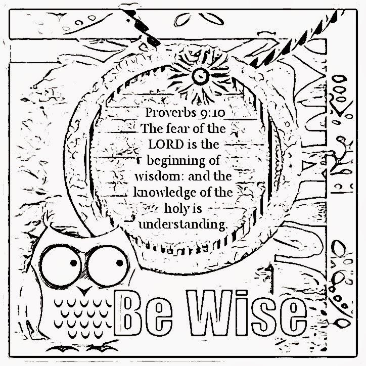 Children's Gems In My Treasure Box: Wisdom Coloring Sheets 2