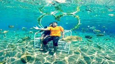Snorkeling Sekaligus Foto Prewedding di Umbul Ponggok Klaten, Tempat Wisata